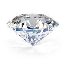 Picture of large round brilliant diamond